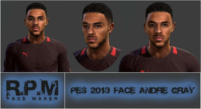 PES 2013 Andre Gray Face