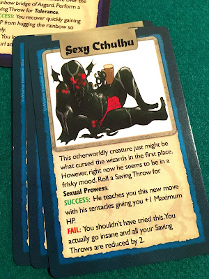 Drinking Quest Review Sexy Cthulhu