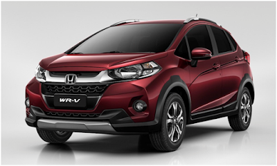 New 2017 Honda WRV front look picture