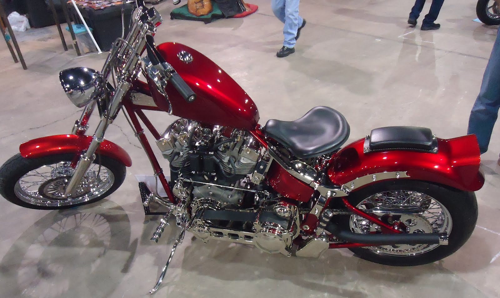 Tear it up, fix it, repeat: Oklahoma City 2012 Motorcycle Show