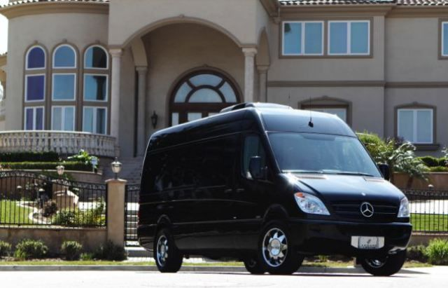 This Is No Ordinary Mercedes-Benz Van (10 Pics)