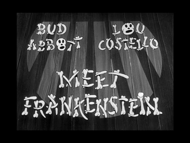 abbott and costello meet frankenstein review packet