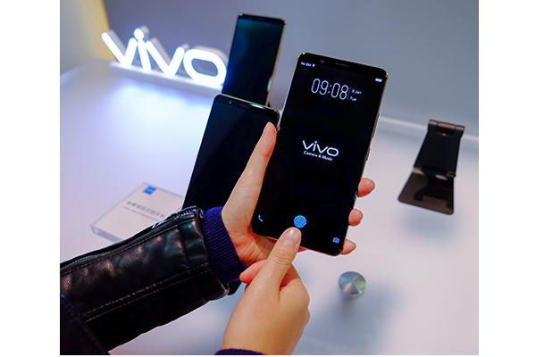 CES 2018: Vivo shows off world's first in-display fingerprint scanning smartphone
