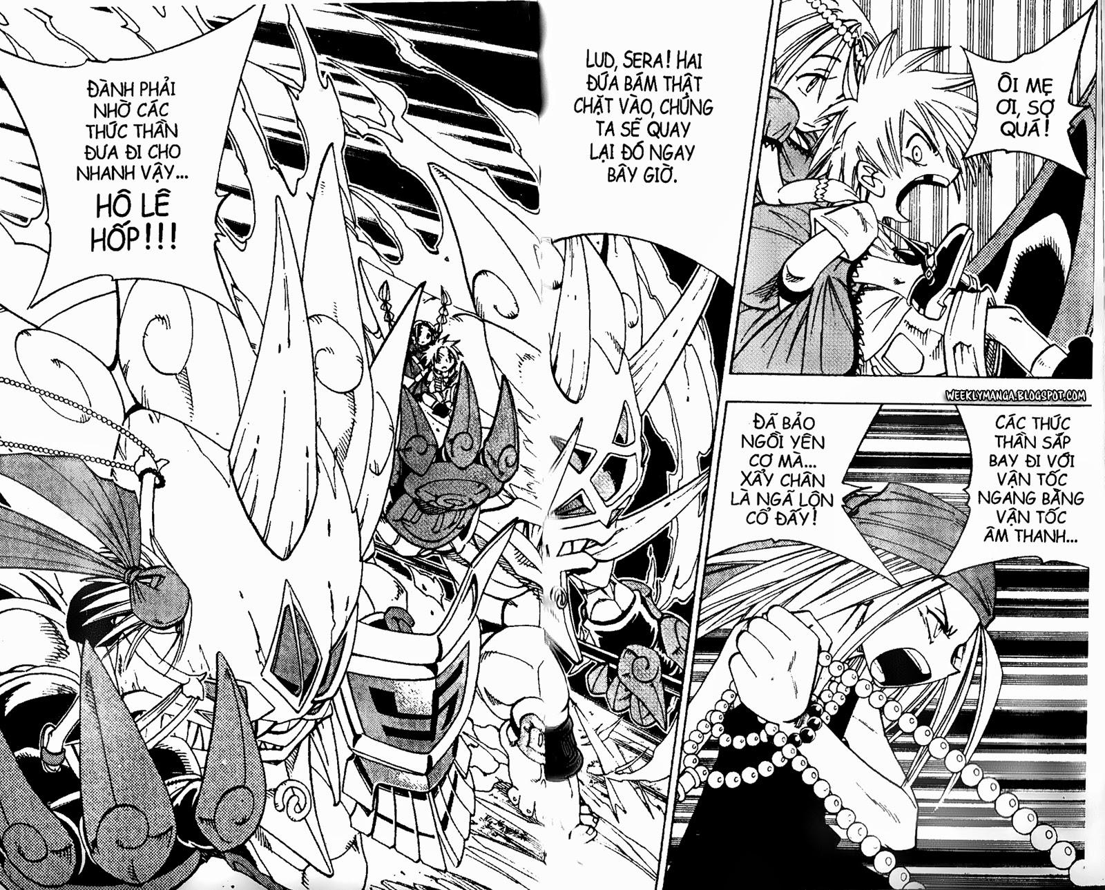 Shaman King [Vua pháp thuật] chap 158 trang 16