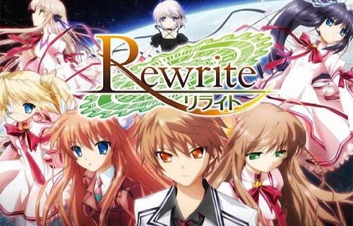 Judul Rewrite Type TV Status Ongoing Studio 8bit Durasi 48 Per Eps Credit Tonansubs Sns