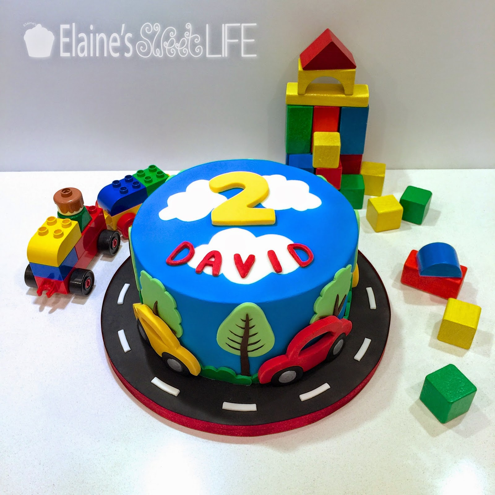 Elaine S Sweet Life How To Decorate A Car Cake