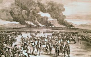 bataille d'ulundi gatling