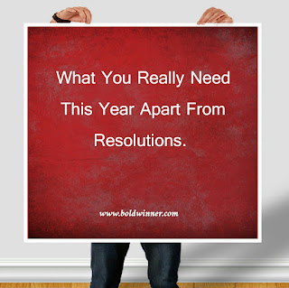 What You need in 2017 asides resolution