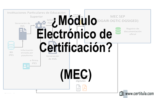 Módulo Electrónico de Certificación (MEC)