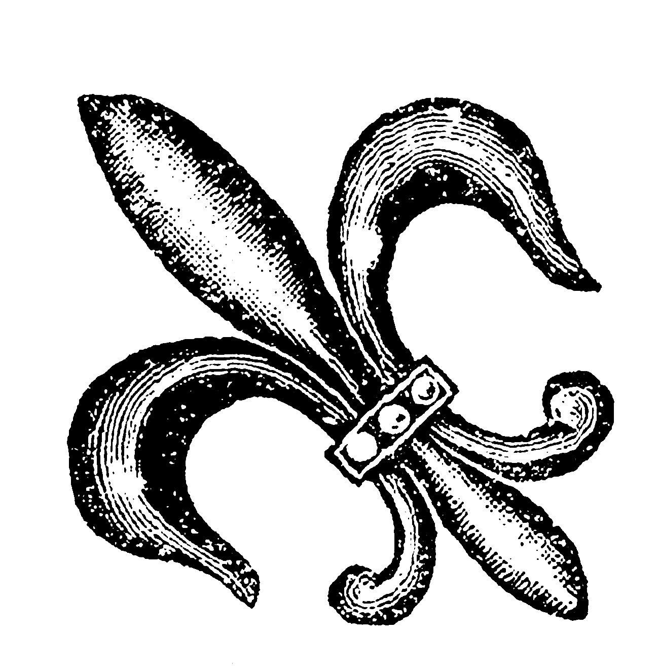 Digital Stamp Design: Free Digital Fleur De Lis Download ...
