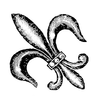 fleur de lis image download illustration