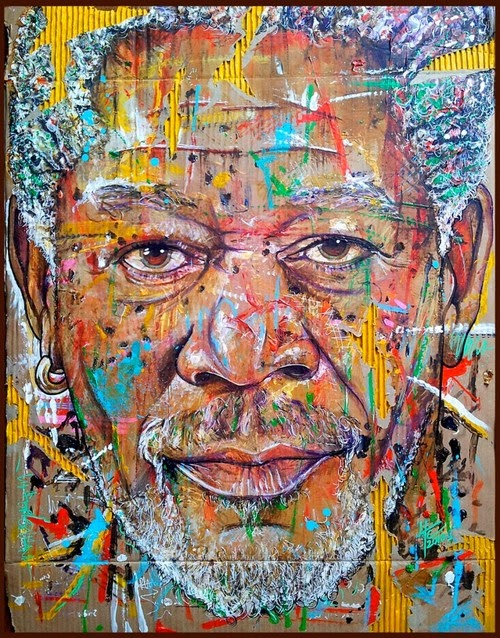 Yann Couedor - morgan Freeman
