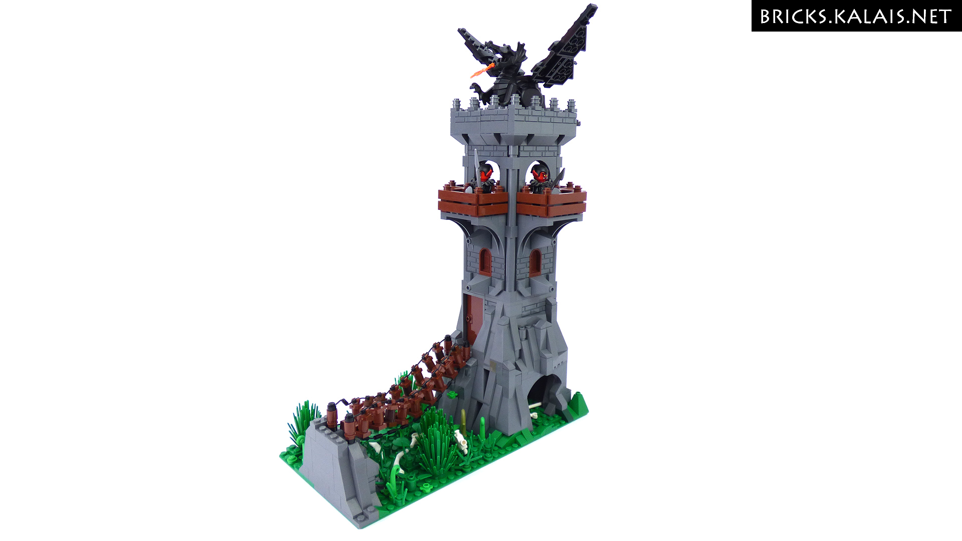 Gone Travelling Blog Moc Dragon Tower Kalais Bricks Lego® Blog