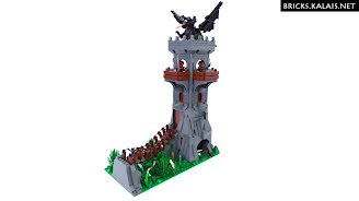 [MOC] Dragon tower
