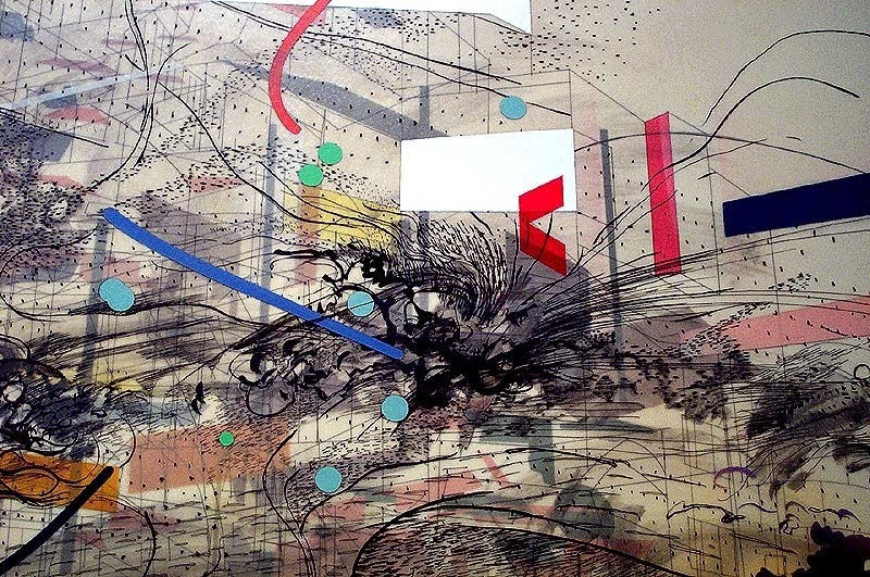 Architectures Of The Imaginery 03 Art Julie Mehretu