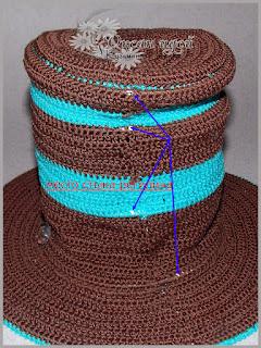 изнанка шляпы