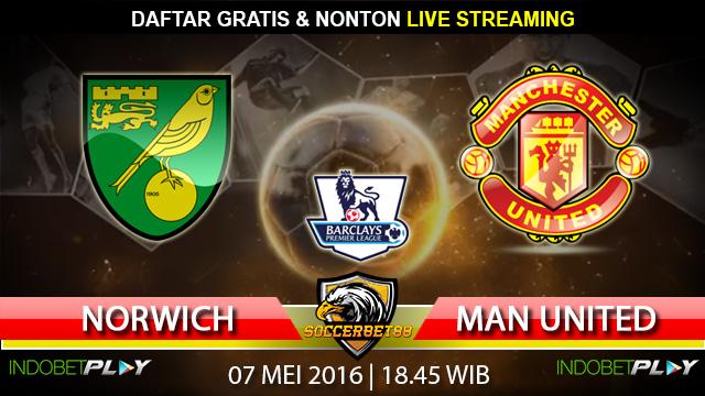 Prediksi Norwich vs Manchester Utd 07 Mei 2016 (Liga Inggris)