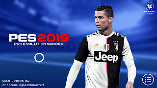 PES 2019 Mobile v3.2.1 New Kits Update Android UCL Menu