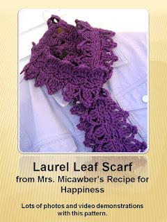 http://mrsmicawber.blogspot.ca/2013/02/laurel-leaf-scarf-free-crochet-pattern.html