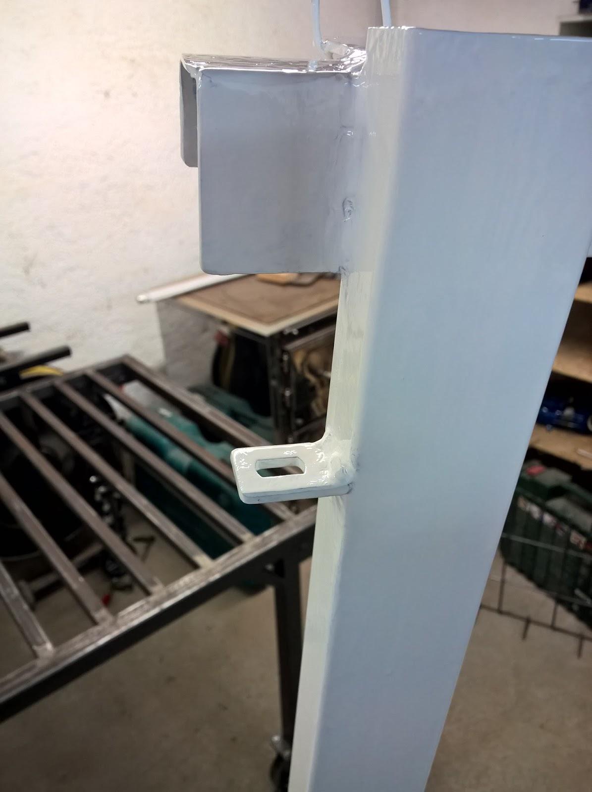 holz und metall ein heimwerkerblog treppenschutzgitter teil 1 der rahmen. Black Bedroom Furniture Sets. Home Design Ideas