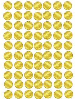 printable gold coins
