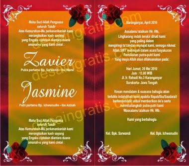 Undangan Pernikahan Dalam Bahasa Jawa Invitation