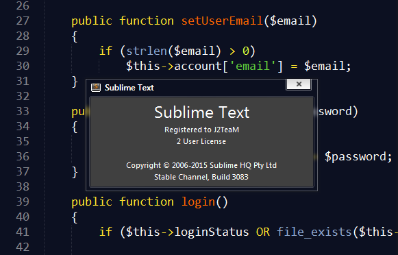 sublime text 3 build 3143 license key 2018