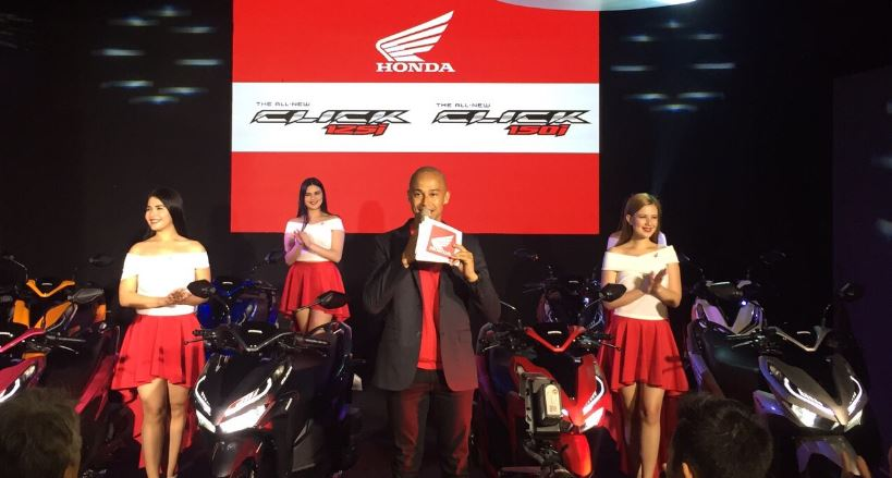 Honda PH unveils game changing models CLICK125i, CLICK150i