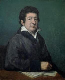 Retrato de Leandro Fernández de Moratín por Francisco de Goya (1824)