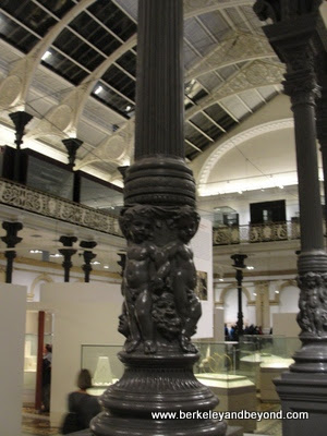 interior of National Museum of Ireland--Archaeology, in Dublin