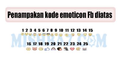 25 Kode Emoticon Untuk Buat Status di Facebook