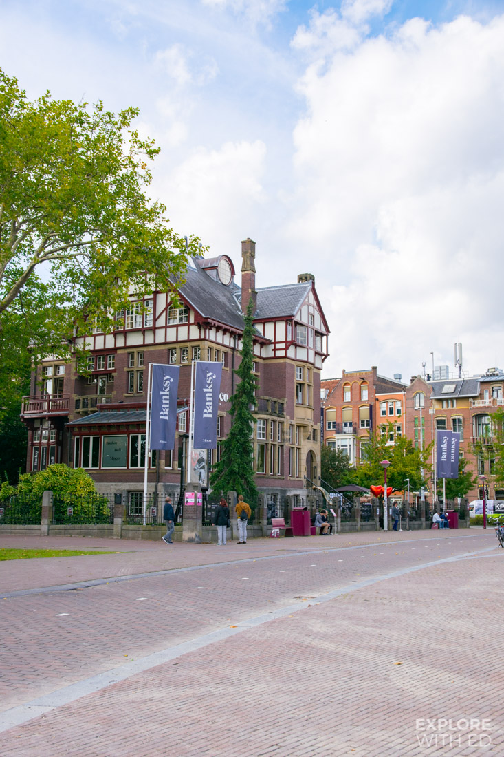 The Banksy Art Museum in Museumplein