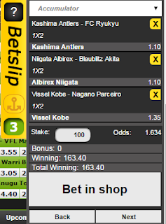 Nairabet Bet In Shop