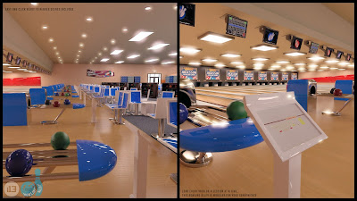 i13 Bowling Alley Environment with Poses
