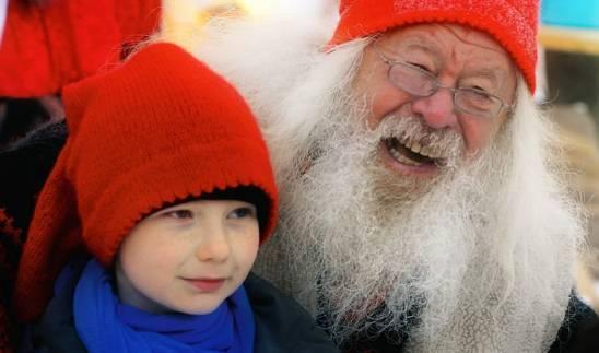 La casa de Papá Noel en Savalen