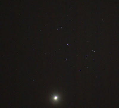 Venus in the Pleiades (M45)