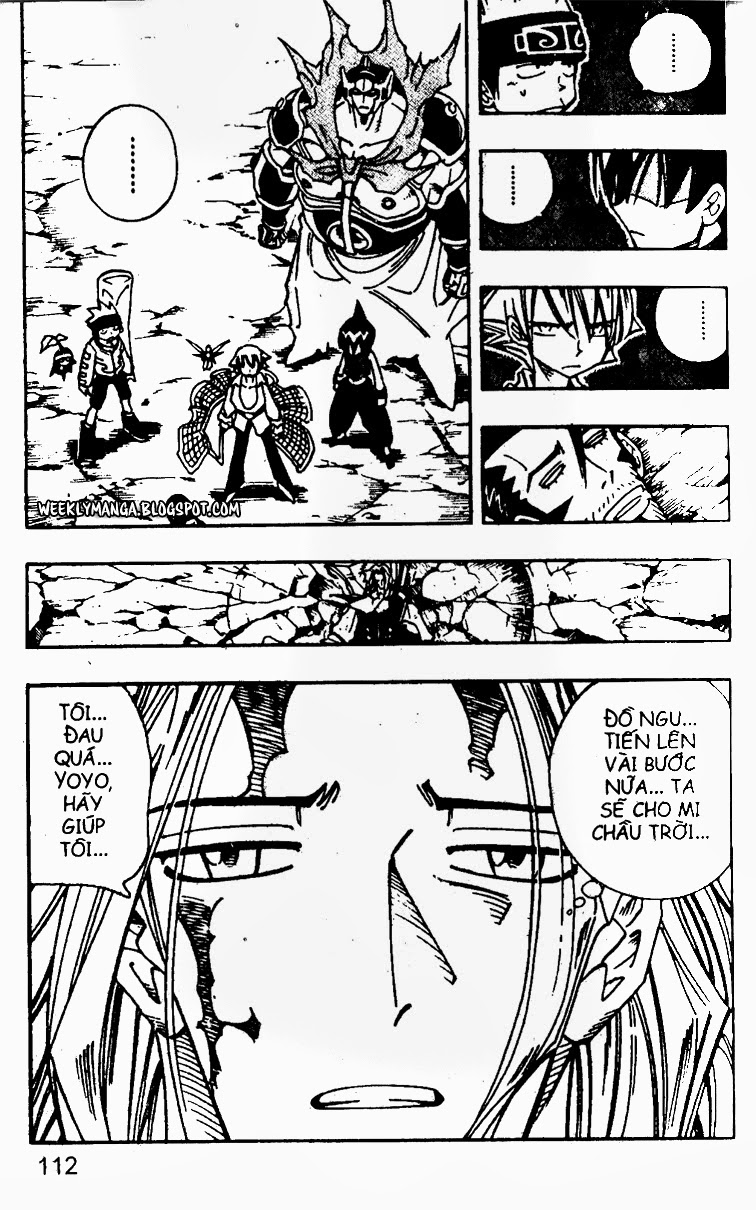 Shaman King [Vua pháp thuật] chap 103 trang 10
