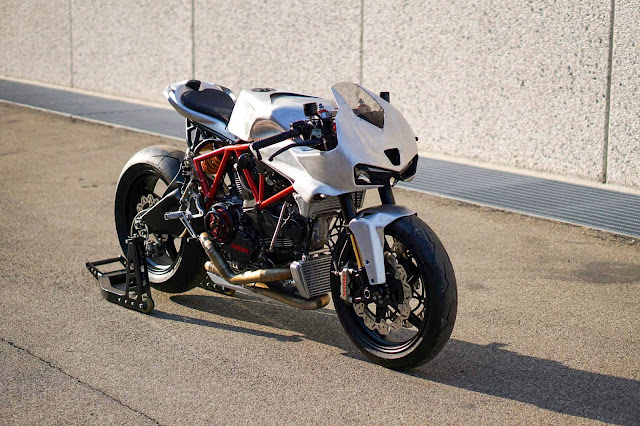 Ducati SuperSport Cafe Fighter By Simone Conti Motorcycles