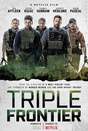 Poster Of Triple Frontier 2019 In Hindi Bluray 720P Free Download
