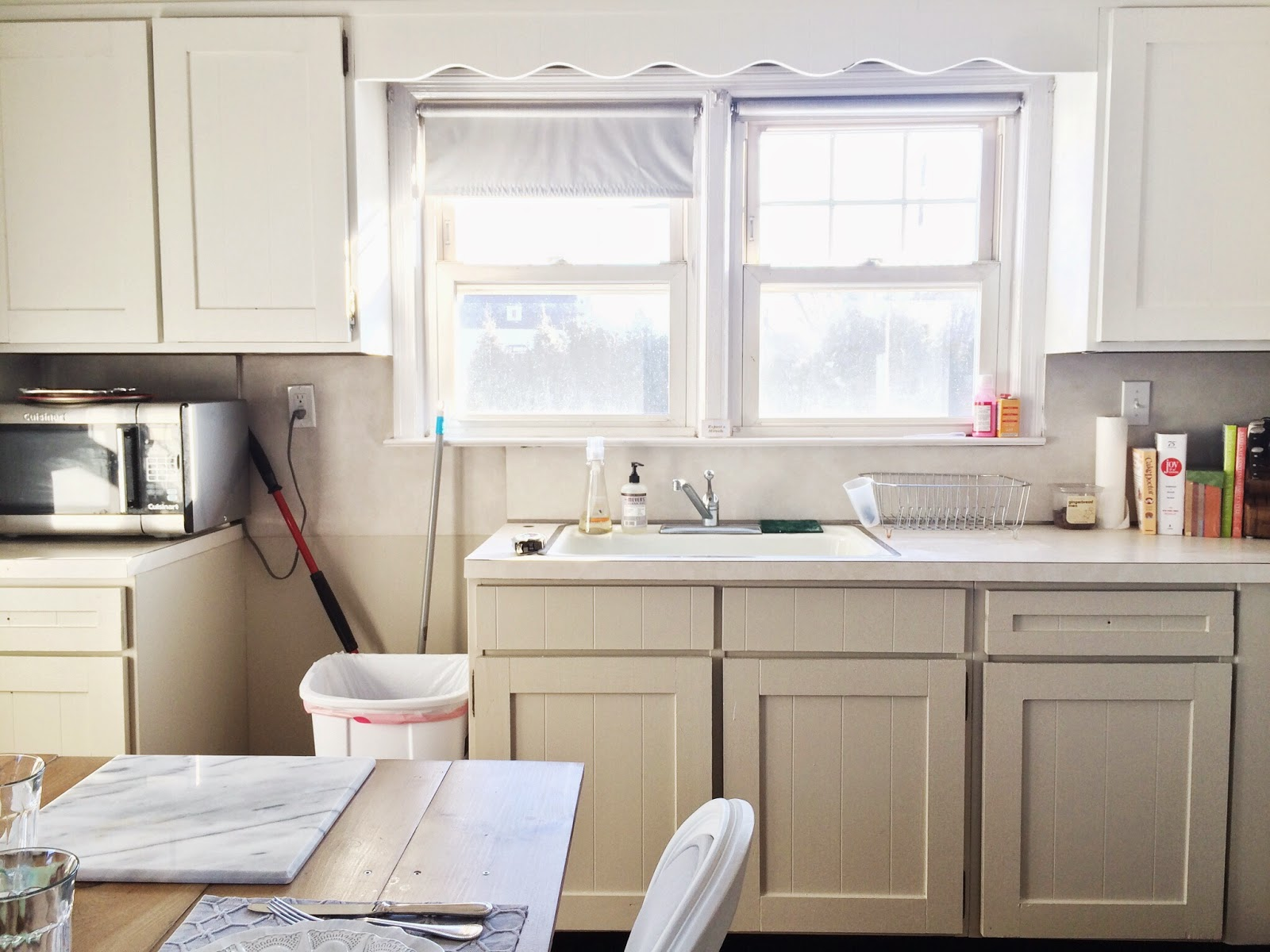 kitchen trim light fixtures for how to paint add shaker cabinets by georgia grace