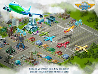 Airport City MOD Unlimited Money/Cash/Coin/Gold v5.0.12 Apk Android Terbaru