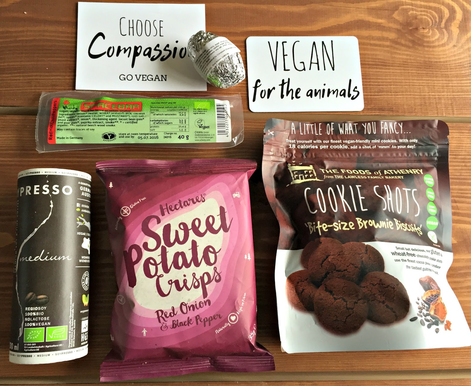 The Vegan Kind Subscription Box March 2016 TVK29