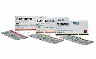 Efek Samping Dan Aturan Minum Obat Captopril