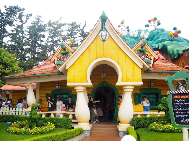 Mickey's house, Toon Town, Tokyo Disneyland, Japan