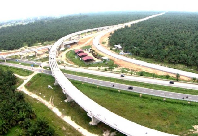 Tol Medan-Kuala Namu Tebingtinggi Salah Satu Tol Paling Indah di Indonesia