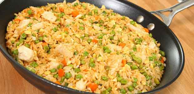 How to Make Chicken Fried Rice, Quick, Easy and Delicious