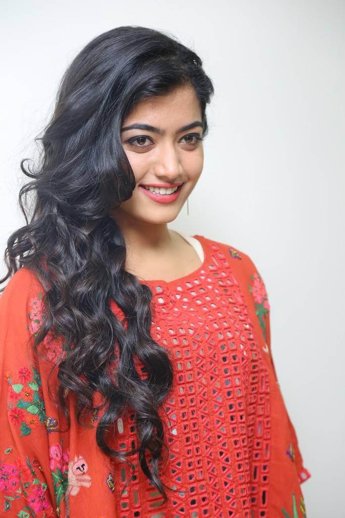 Rashmika Mandanna Stills At Chalo Movie Teaser Launch -1605