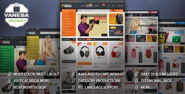 Free Mega Store Responsive Prestashop Theme