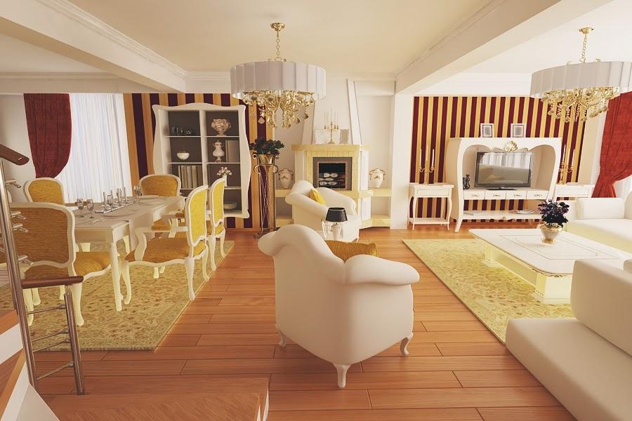 Design interior living casa Constanta - Design interior case clasice