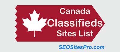 Top 100+ Canada Classified Sites List